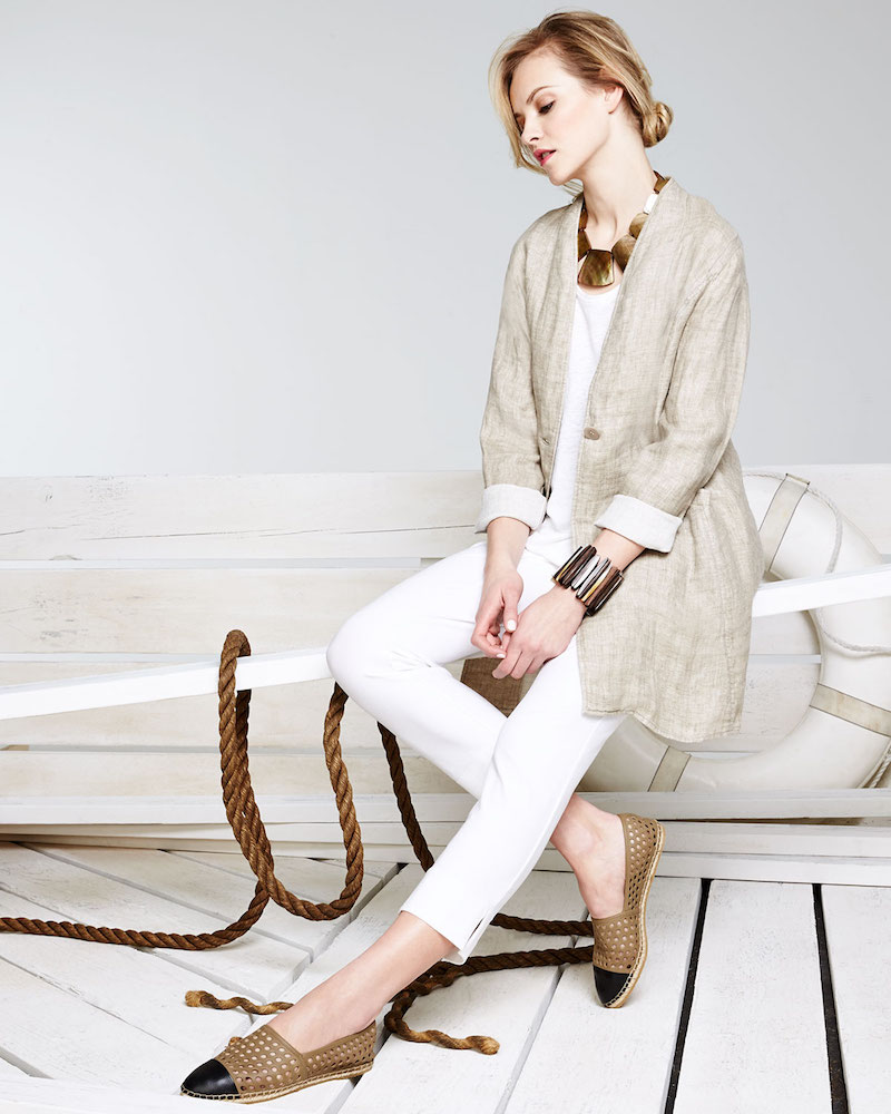 Soft Focus Eileen Fisher Spring 2016 The Classic