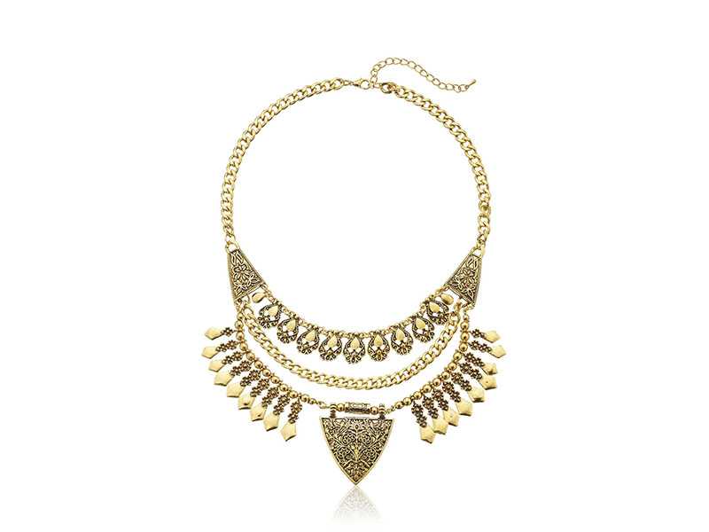 Elise M Constance Gold Necklace