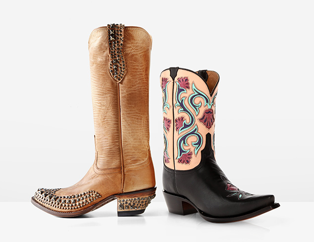 Go West Boots feat. Dan Post & Lucchese at MYHABIT