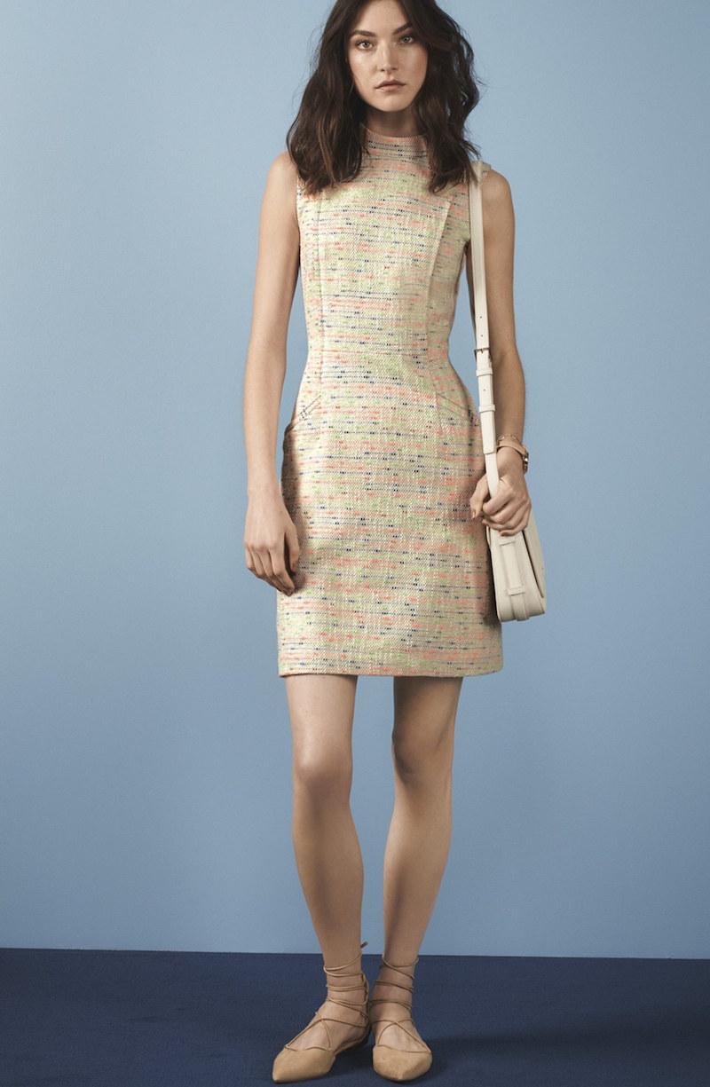 Halogen Tweed Sheath Dress