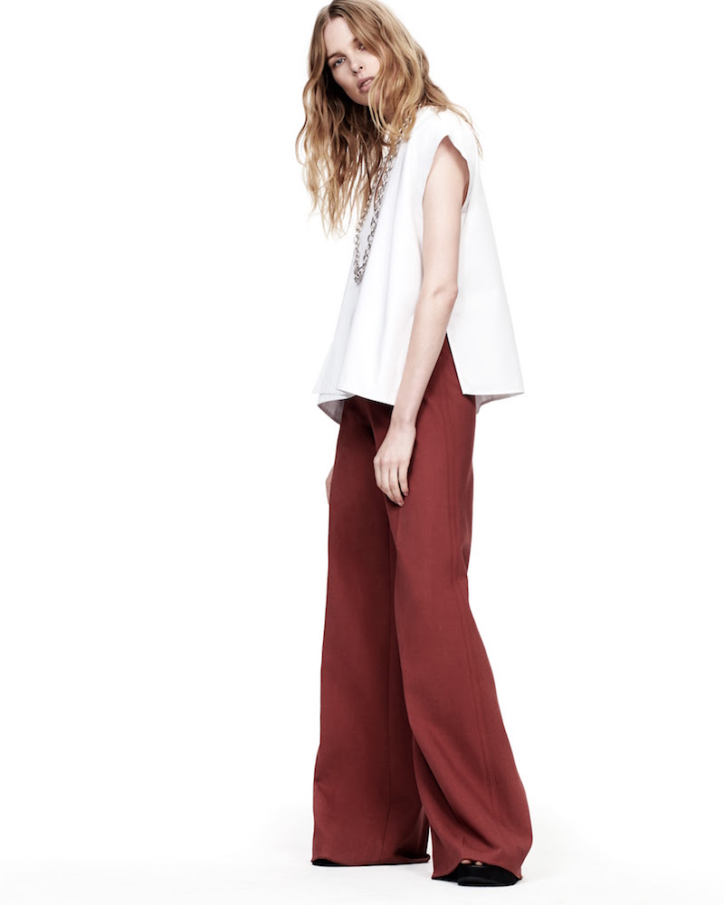 Helmut Lang Wide-Leg Trousers