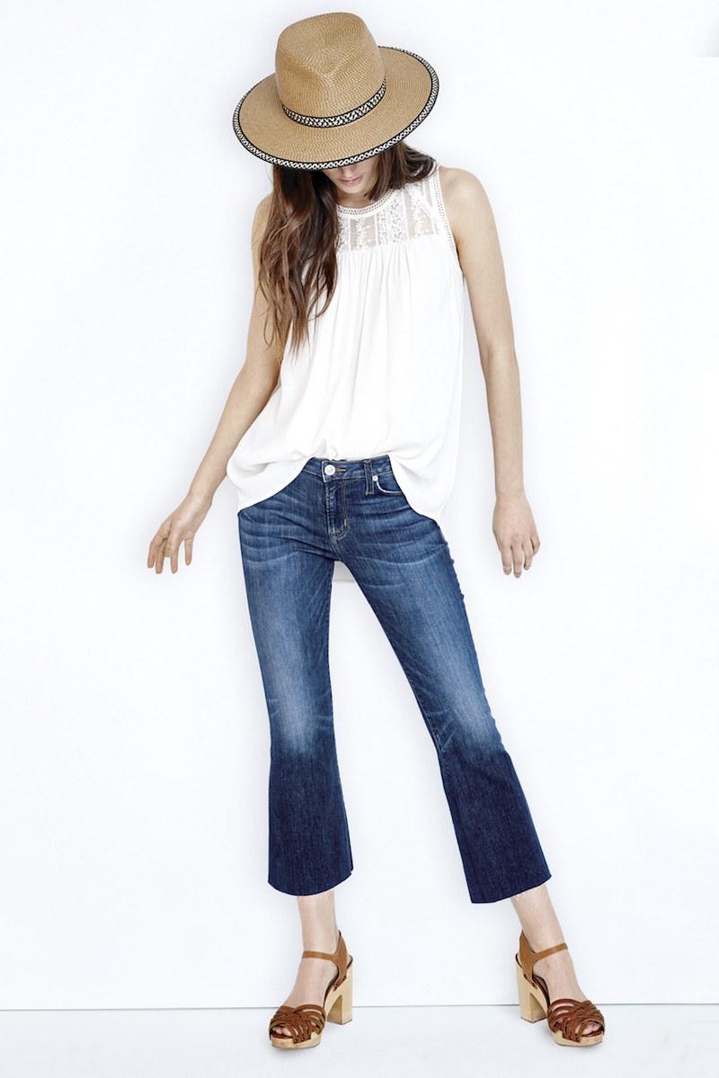 Hudson Jeans Crop Flare Jeans