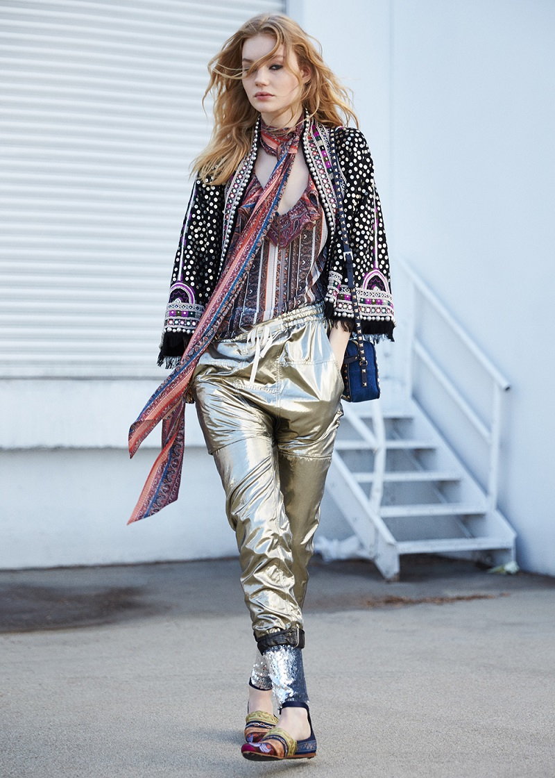 Isabel Marant Baikal Embroidered Coat Jacket