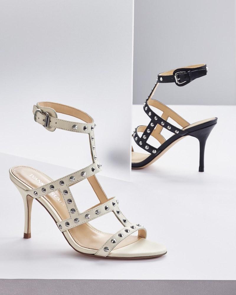Ivanka Trump Gemima Studded Strappy Sandal