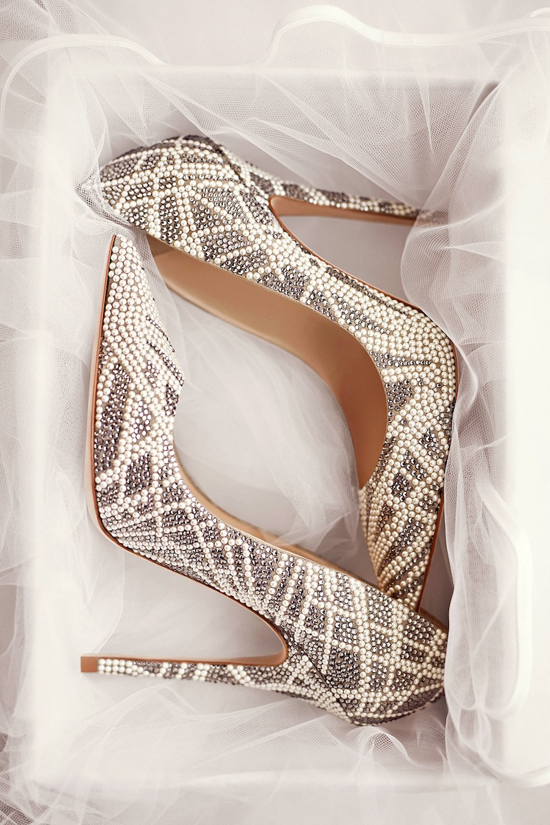 JIMMY CHOO Agnes Light Khaki Suede Pointy Toe Pumps with Crystal and Stone Embellishments_1