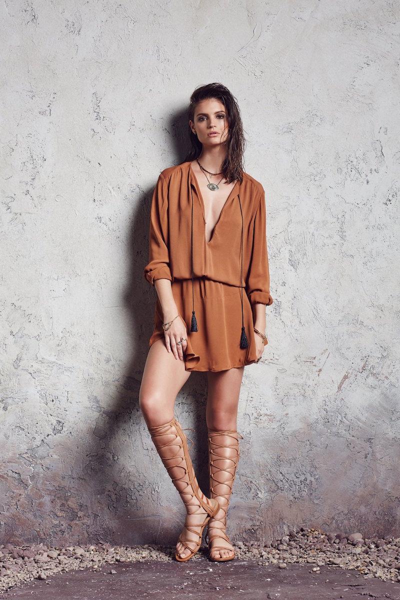 Karina Grimaldi Pila Mini Dress