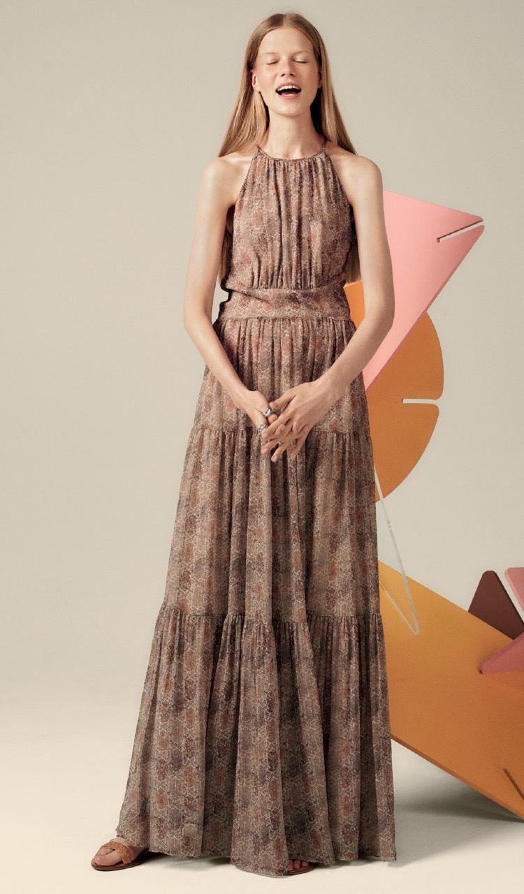 L'Agence Penelope Maxi Dress