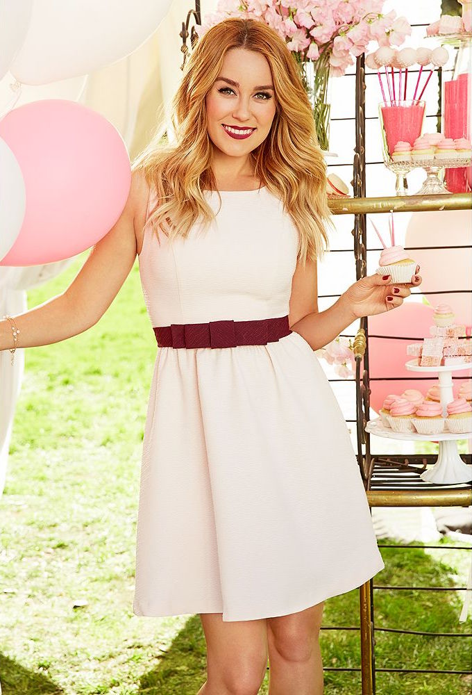 LC Lauren Conrad Bow Fit & Flare Dress