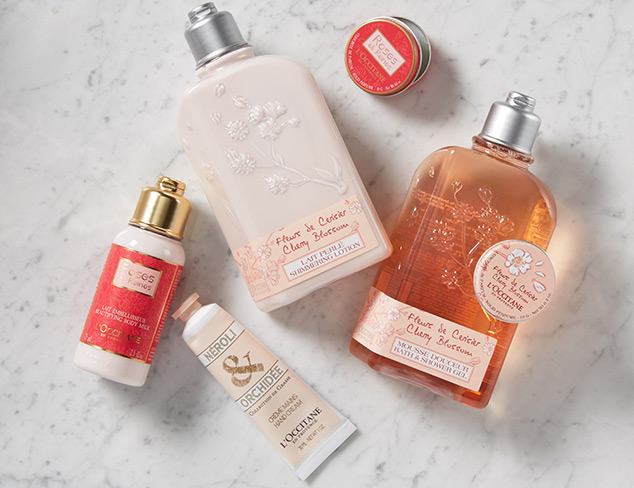 L'Occitane & SKIN&CO at MYHABIT