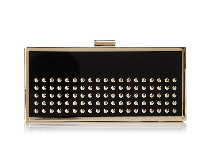 La Regale Nail-Head Clutch