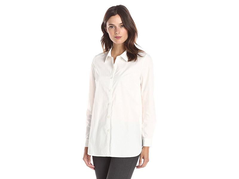 Lark & Ro Poplin Tunic Shirt