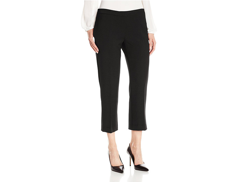 Lark & Ro Straight Cropped Pant