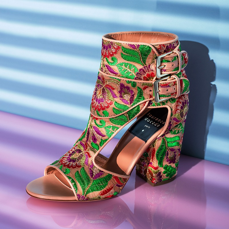 Laurence Dacade Bohemian Rush Embroidered Heels