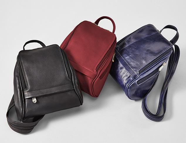 Letizia, Zenith & David King Leather Bags at MYHABIT