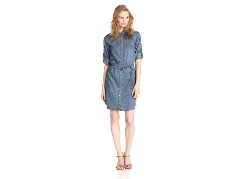 Levi's Denim Shirt Dress
