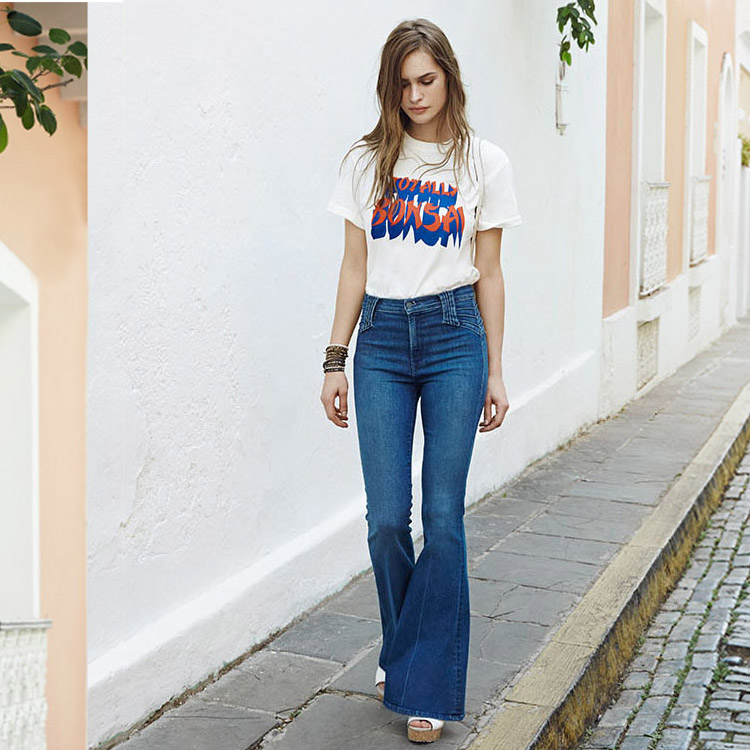 MOTHER Lovin Superstition Flared Jeans