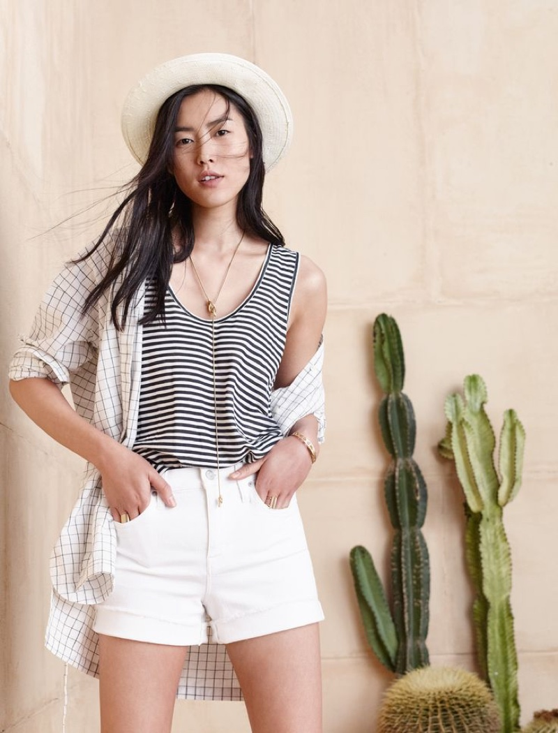 Madewell Belted Tunic Shirt