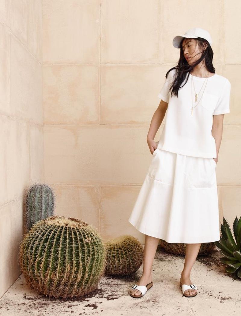 Madewell Sidewalk Skirt