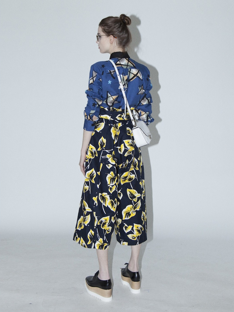 Marni Oversized Floral Print Wide Leg Pants