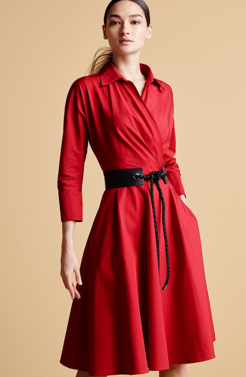 Max Mara Lollo Cotton Poplin Shirtdress