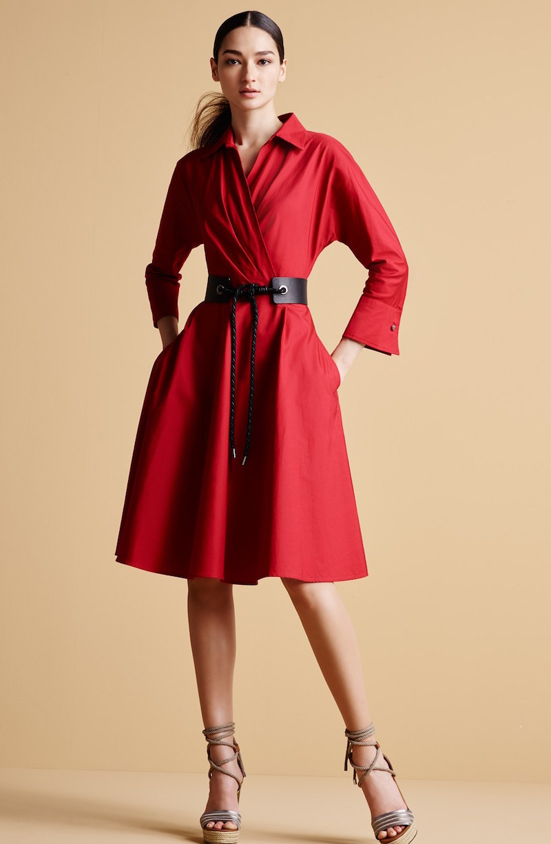 Max Mara Lollo Cotton Poplin Shirtdress_1