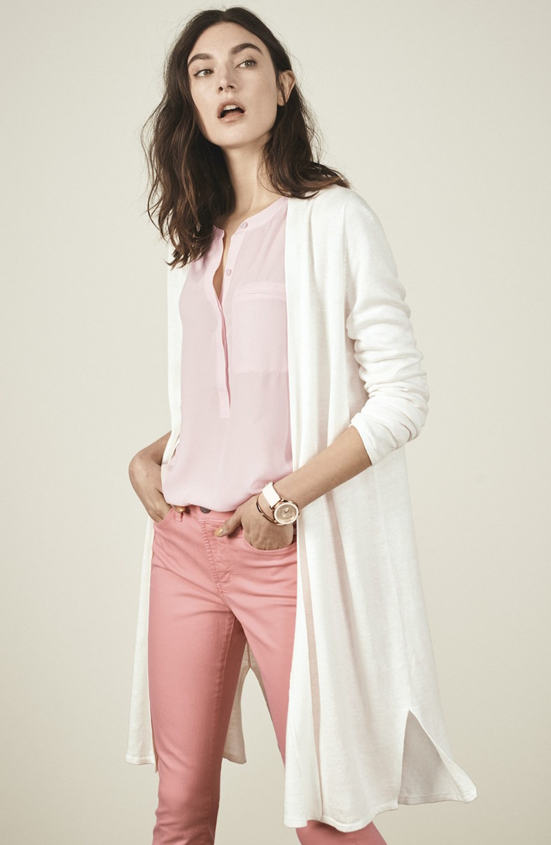 NYDJ Open Front Duster Cardigan