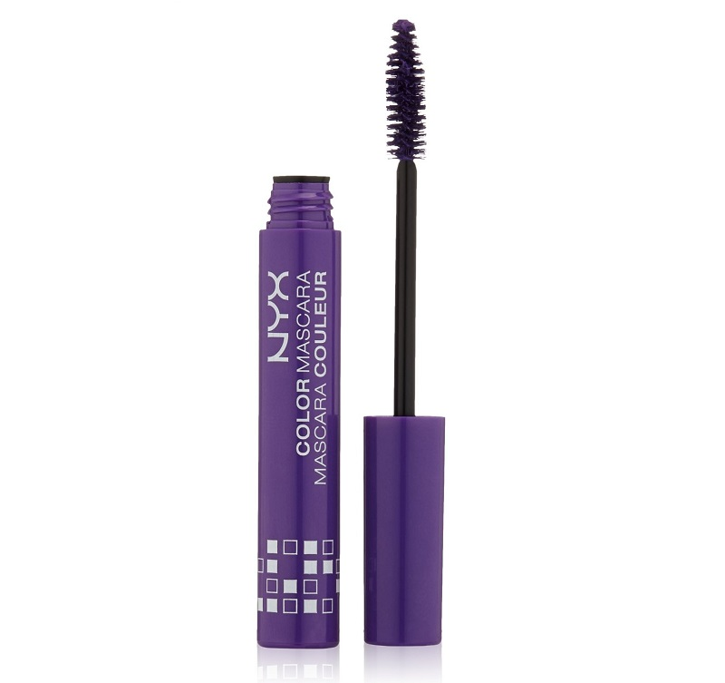 NYX Cosmetics Color Mascara, Purple