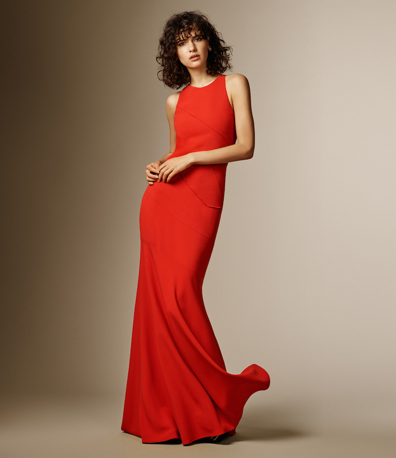 Narciso Rodriguez Crepe Gown