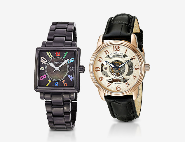 New Markdowns Stührling Watches at MYHABIT