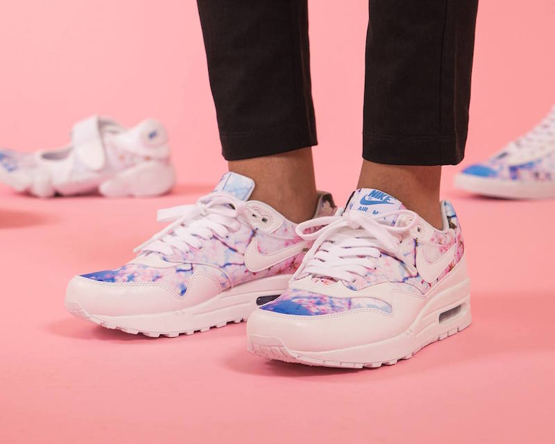 san francisco 16998 5ee57 Nike Air Max 1 Print Cherry Blossom 2