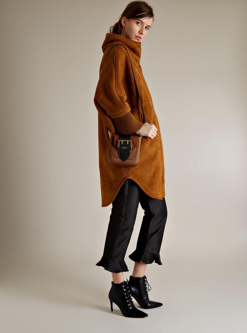 Osman Sarita shearling coat