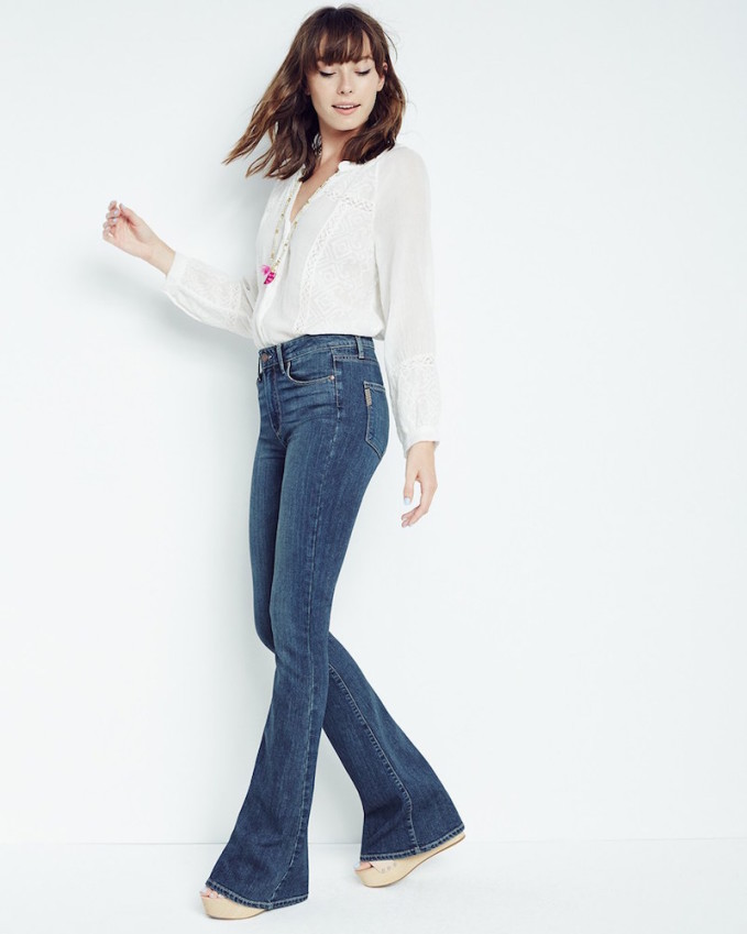 Paige Denim Transcend Bell Canyon High Rise Flare Jeans