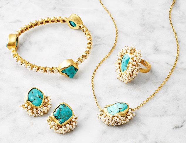 Pearl Kissed Jewelry by Zariin at MYHABIT