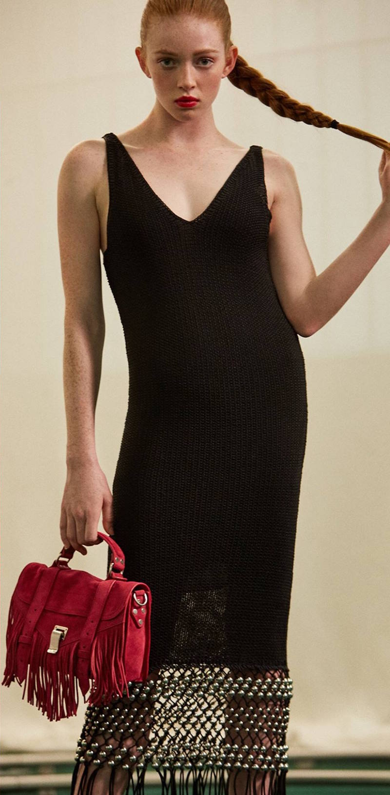 Proenza Schouler Macrame Open Stitch Dress