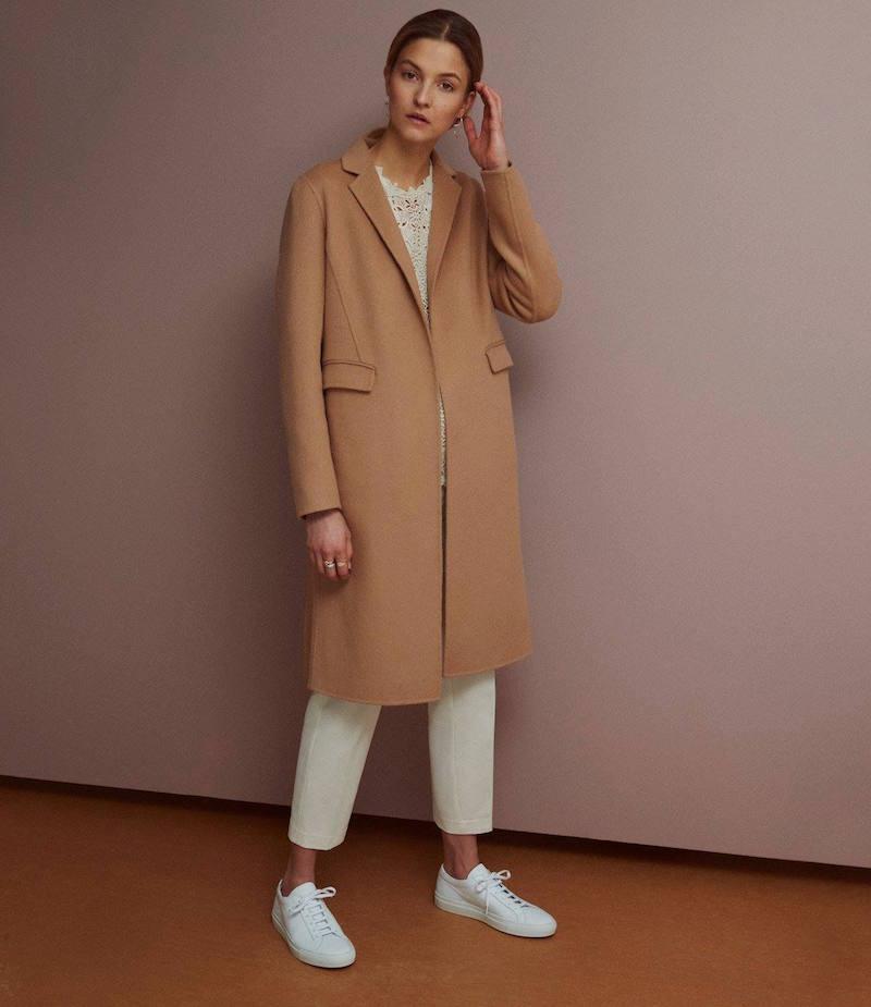 R/R Studio Melton Belted Coat