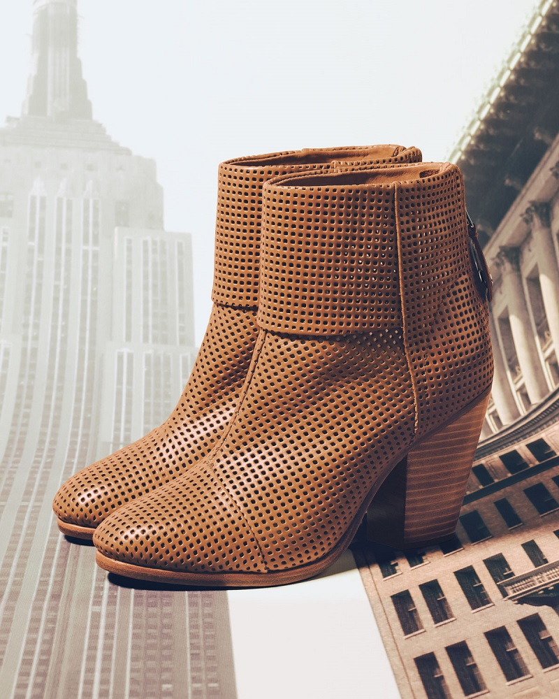 Rag & Bone Classic Newbury Perforated Bootie