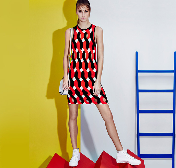 Rag & Bone Olympia Short Dress