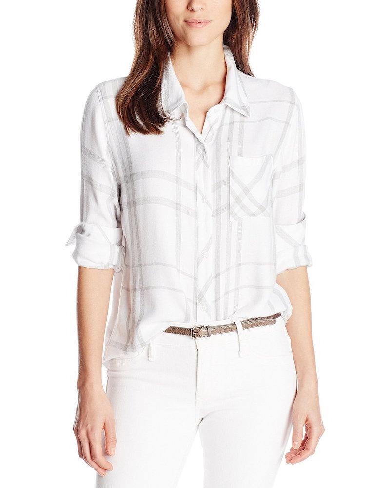 Rails Hunter Plaid Button Down Shirt with Pocket