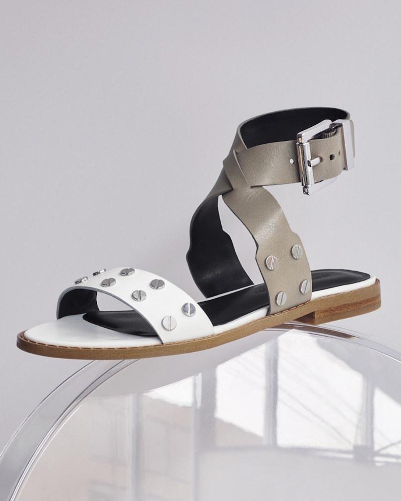 Rebecca Minkoff Stam Studded Ankle Strap Sandal