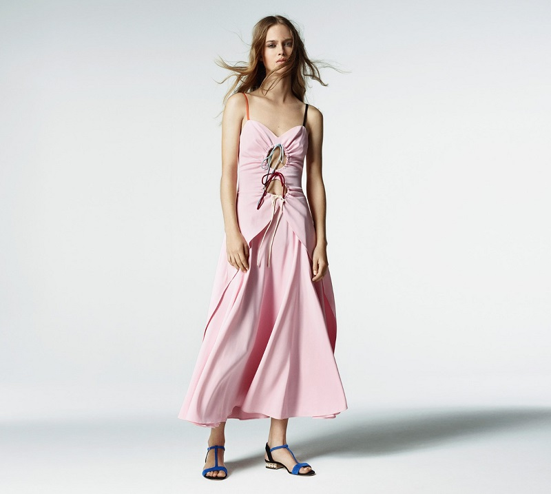 Rosie Assoulin Holy Moley cut-out crepe gown