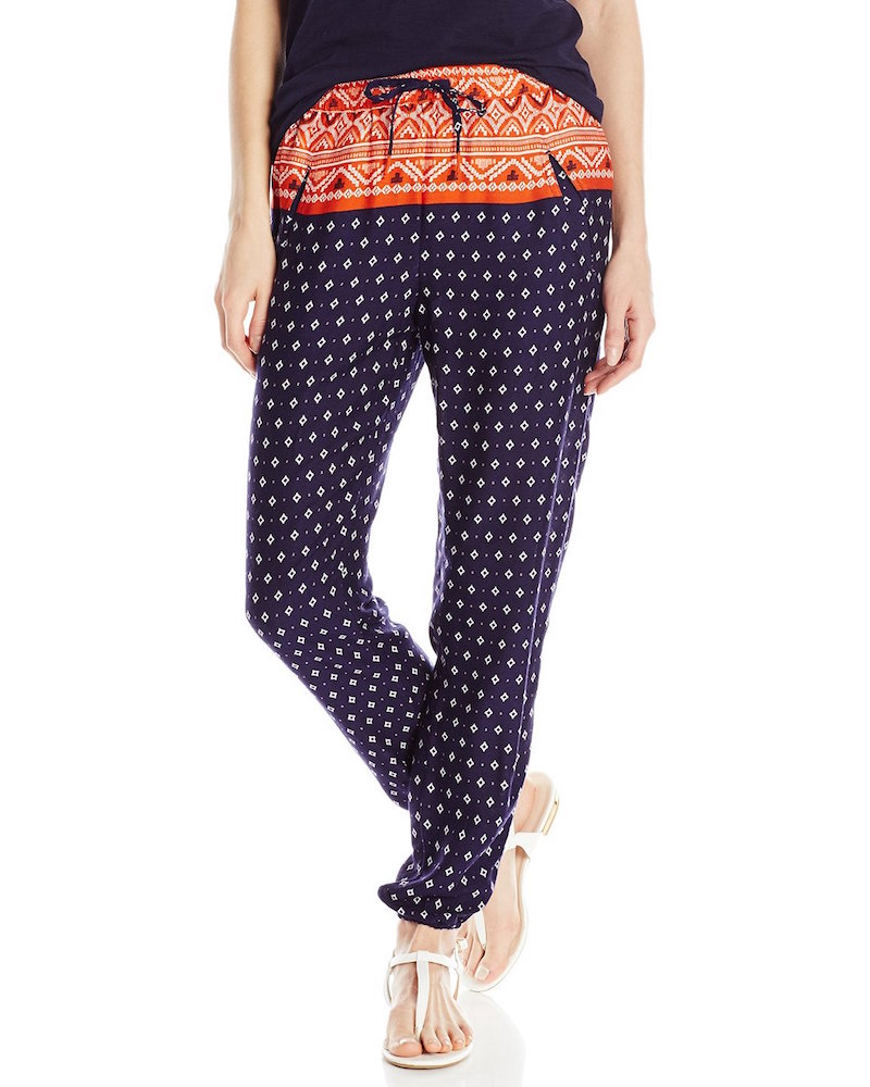 Roxy Junior's Sunday Noon Printed Harem Pant