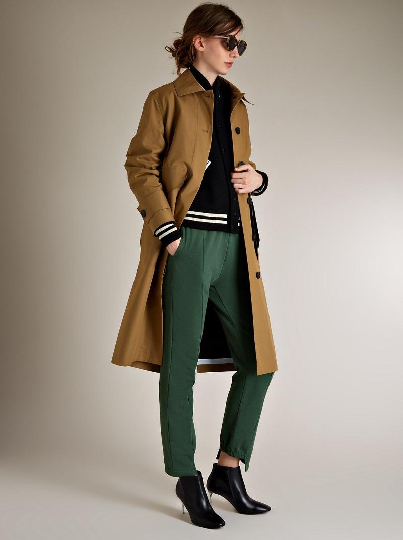 Saint Laurent Classic monochrome varsity jacket