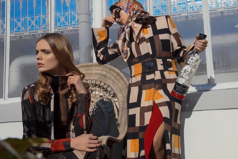 Salvatore Ferragamo Check Wool Jacquard Coat