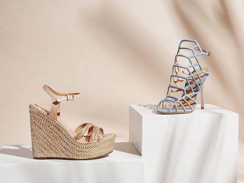 Schutz Juliana Caged Sandals