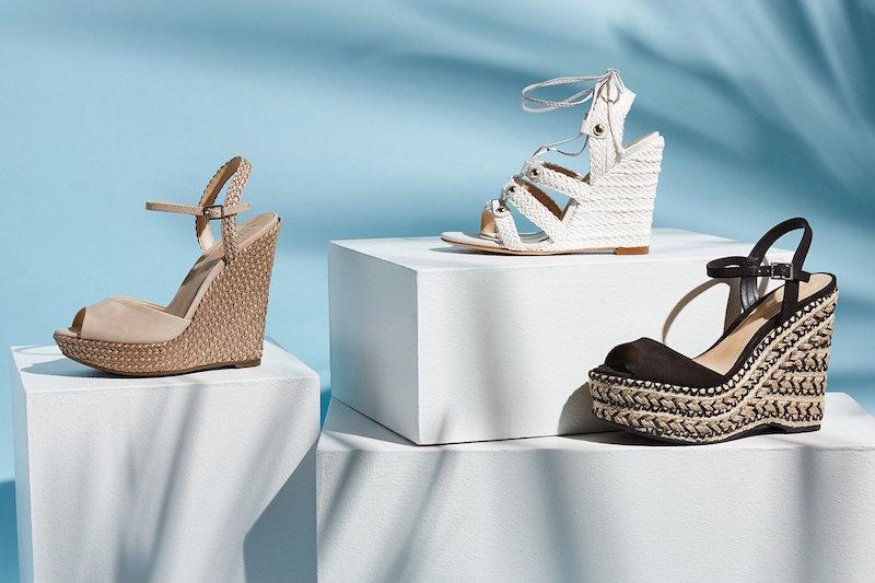 Schutz Mable Wedge Sandals
