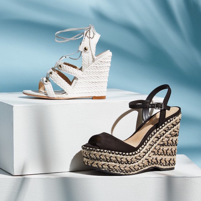 Schutz Veridiane Wedge Sandals