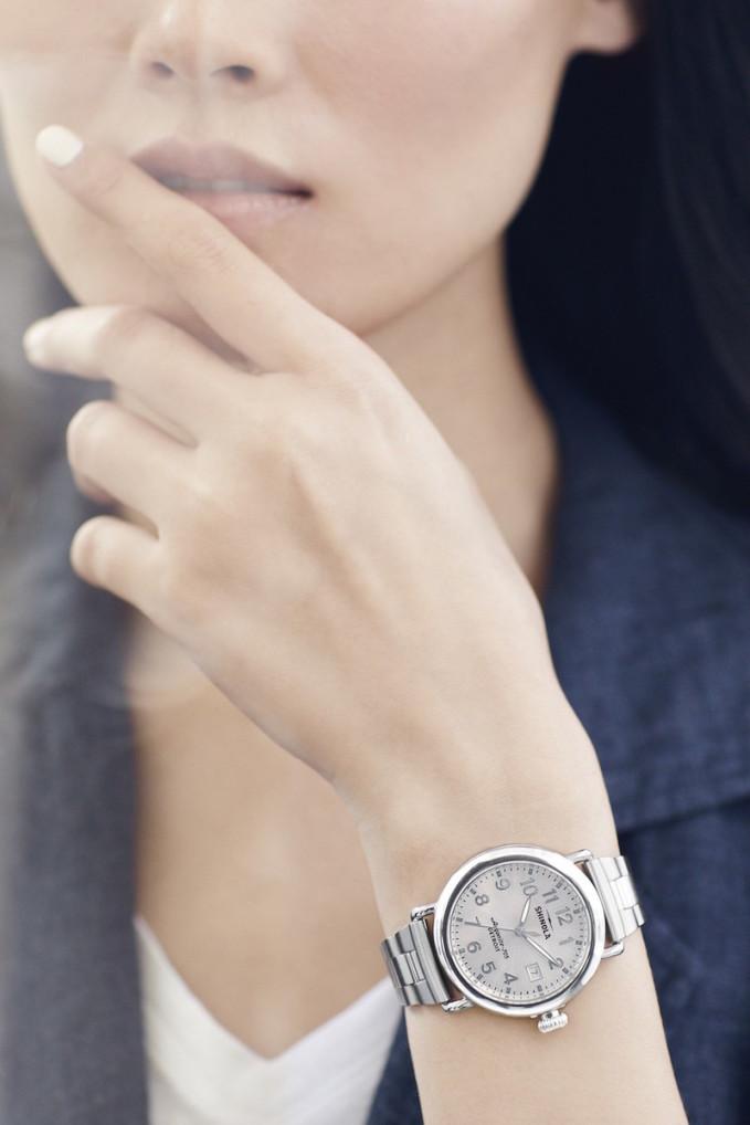 Shinola The Runwell 36mm Bracelet Watch