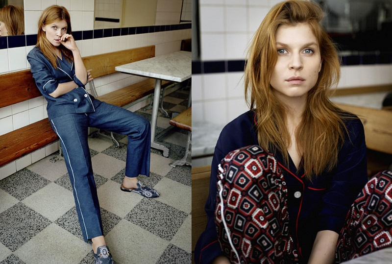 Sleepy Jones Marina grosgrain-trimmed silk-charmeuse pajama shirt