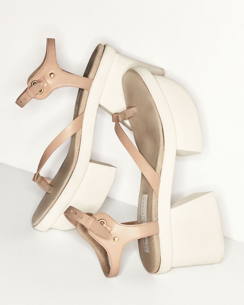 Stella McCartney Altea Faux-Leather Platform Sandal
