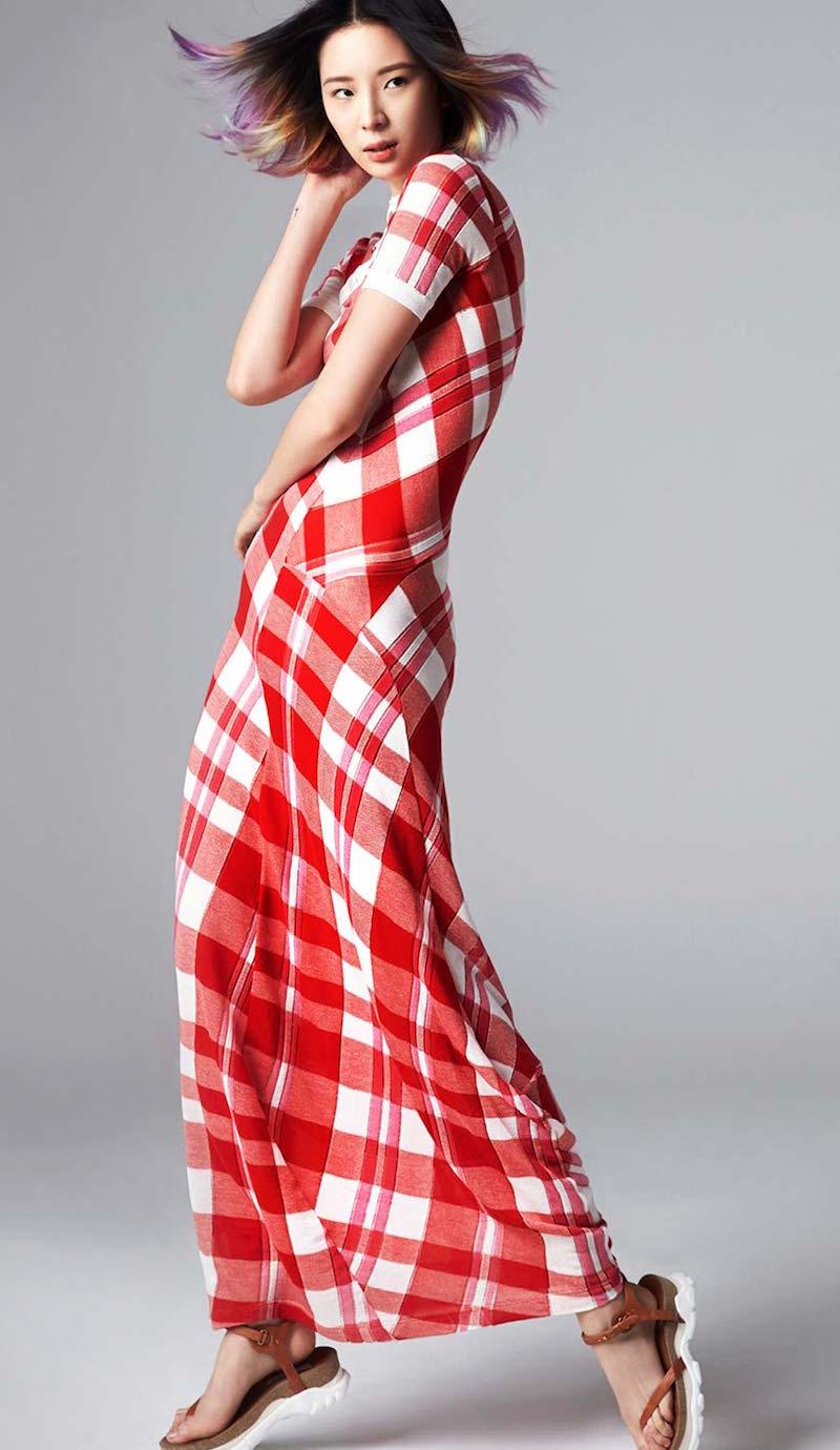 Stella McCartney Stripe Knit Cotton Dress